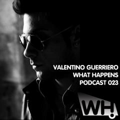 Podcast 023 – Valentino Guerriero (IT)